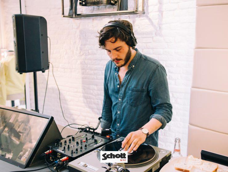 DJ Inauguration Schott Store Lille