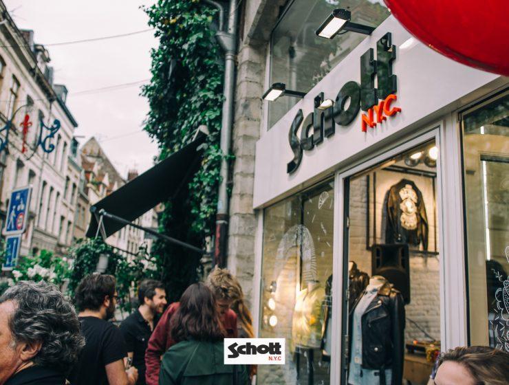 Inauguration Schott Store Lille